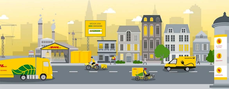Klimaneutraler Versand mit DHL GoGreen